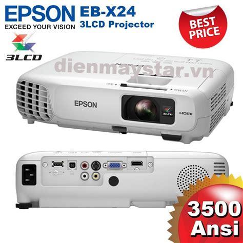 Projector Epson Eb X24 m 193 y chiếu epson eb x24