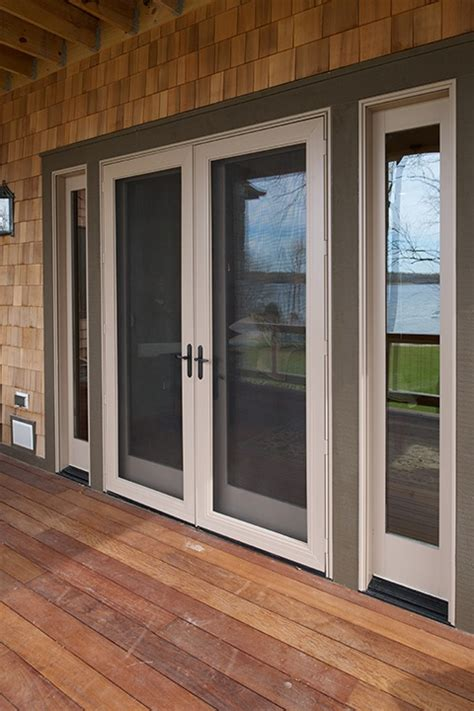 swinging patio doors pinnacle clad swinging patio doors by windsor windows