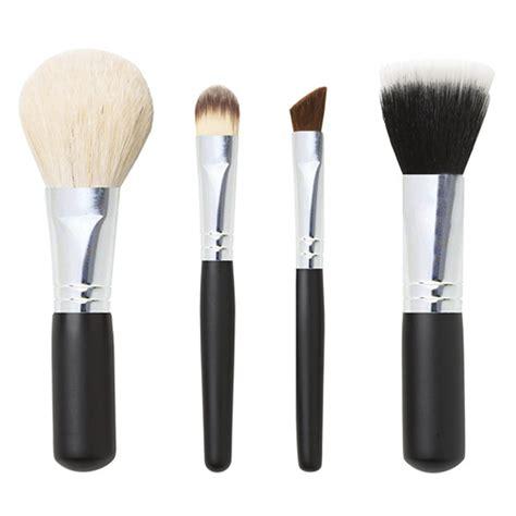 Makeup Brush Set studio basics mineral makeup brush set 4 set iherb