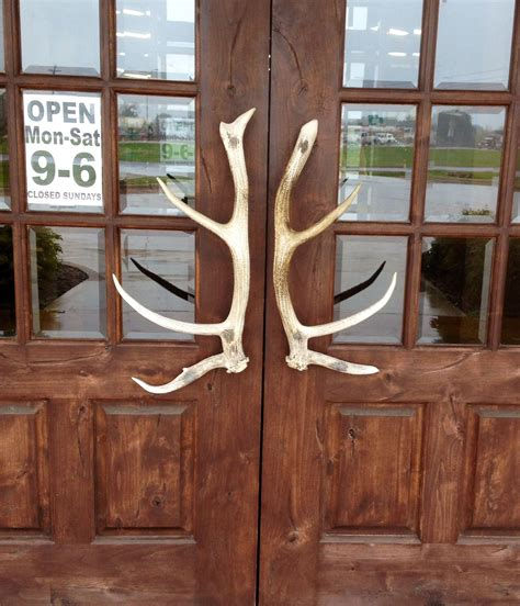 Antler Door Handles - antler door handles 4g ranch home