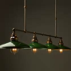 Glass Globes For Lights Vintage Edison Long Billiard Table Light