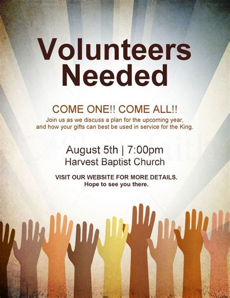 flyer design needed 17 best ideas about volunteers needed on pinterest