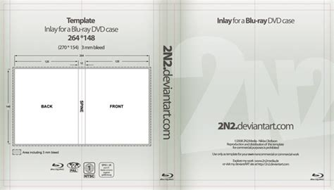 blu ray case insert template psd images blu ray case
