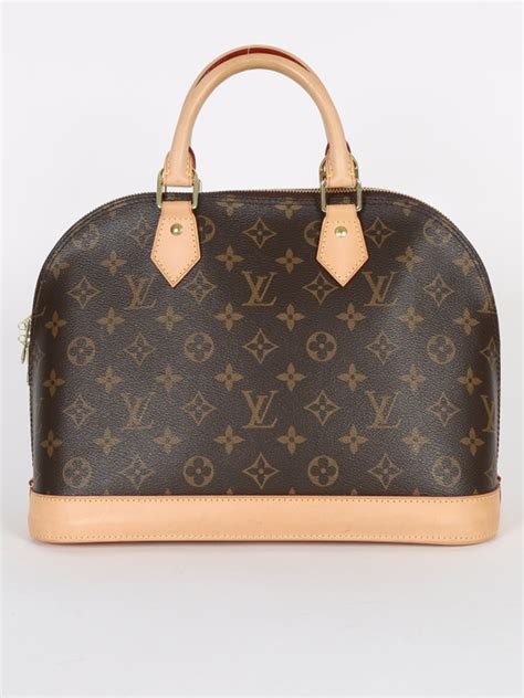 louis vuitton alma pm monogram canvas luxury bags