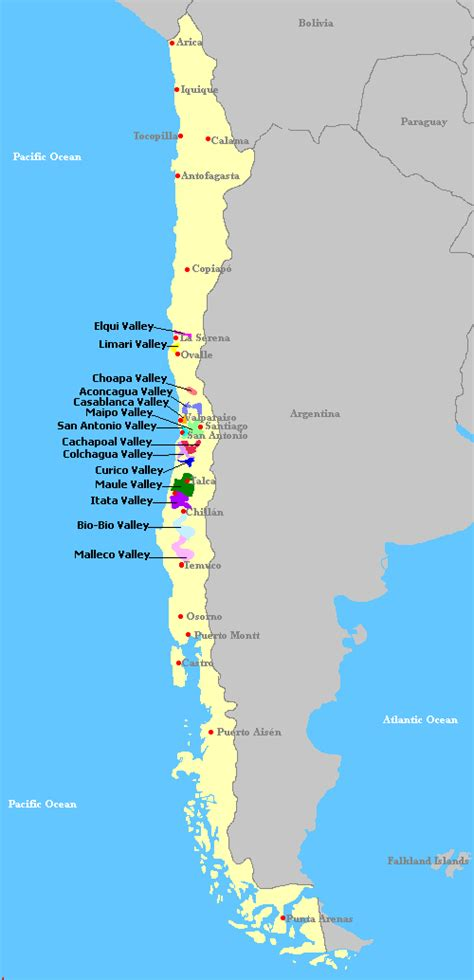 Search South America Chilean Wine Map Quotes