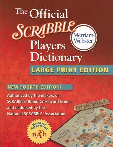 na dictionary scrabble the official scrabble players dictionary