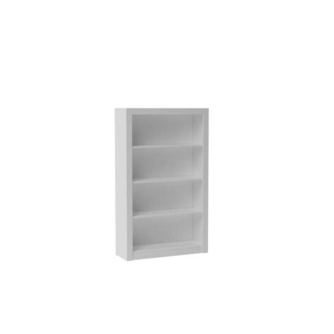 manhattan comfort olinda white open bookcase 28amc6 the
