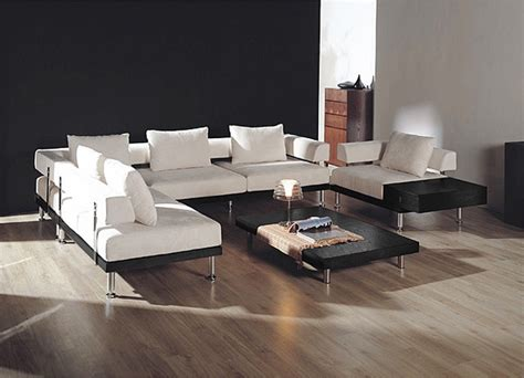modern furniture sectional sofa modern sectional sofas of fabric and leather