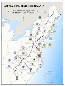 appalachian trail map appalachian trail community ambassador