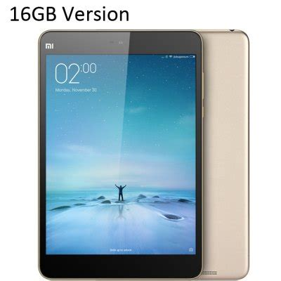 xiaomi mi pad 2 (16gb rom) with android 5.1 now available