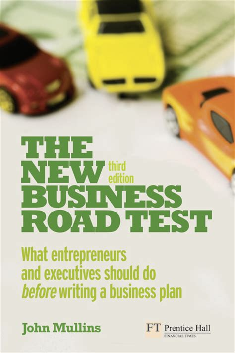 the new business road test what entrepreneurs and investors should do before launching a lean start up 5th edition books pearson education the new business road test