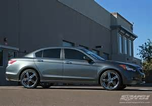 2010 honda accord with 20 quot enkei akp in chrome luxury