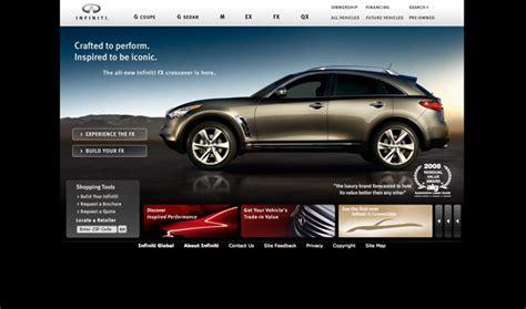 7 Best Car Websites For by Top Car Website Designs Of The Major Brands Website