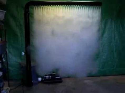fog curtain fog curtain vortex chillers door 2 mag1800 youtube