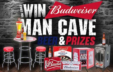 Budweiser Instant Win - want to win a man cave thrifty momma ramblings