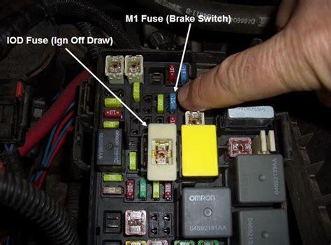 jeep patriot wiring diagram schematic  wiring