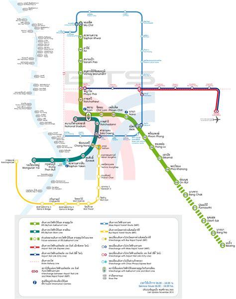 bts thailand new route map bts skytrain mrt brt airport rail