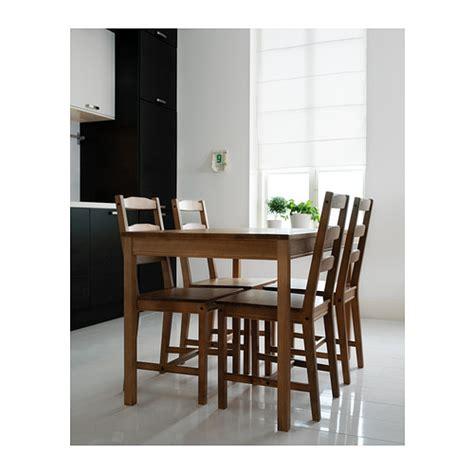 Ikea Jokkmokk Dining Table Jokkmokk Table And 4 Chairs Antique Stain Ikea