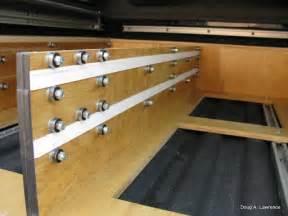 project truck drawers sleeping platform