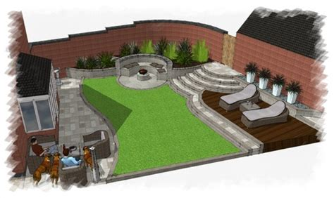 New Build Garden Design Leicestershire Before After New Build Garden Ideas