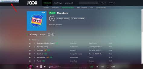 cara download lagu dari youtube menggunakan software idm cara download lagu di joox menggunakan idm segiempat