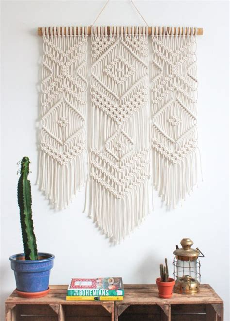 Handcrafted Decor - 16 handmade weaving wall decor designs you can diy