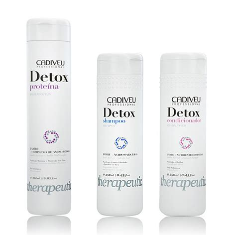 On Detox Trio by Kit De Tratamento Cadiveu Profissional Detox Home Care