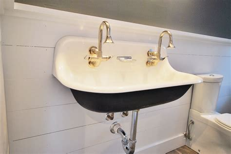 trough sink bathroom double faucet bathroom creative ideas trough sink with floating sink
