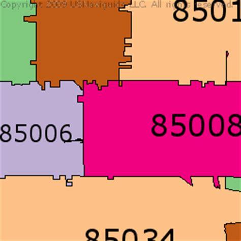 zip code map of phoenix phoenix zip code map pdf