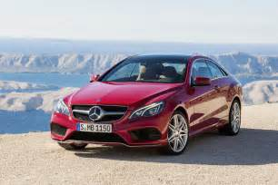 2014 Mercedes E Class Coupe Mercedes Reveals Freshened 2014 E Class Coupe And
