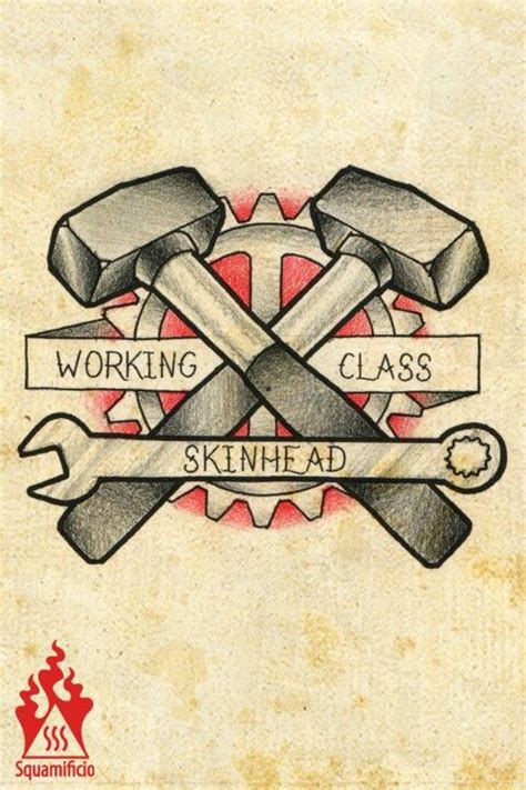 working class tattoo working class hammer disegni squamificio