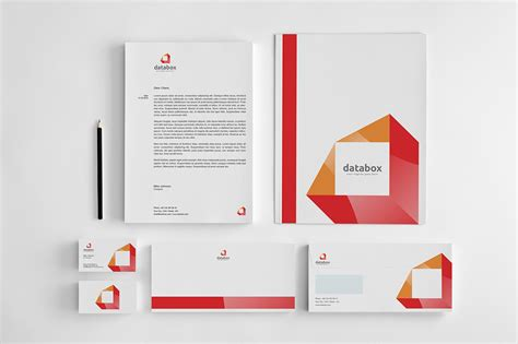 identity design template databox corporate identity stationery templates on