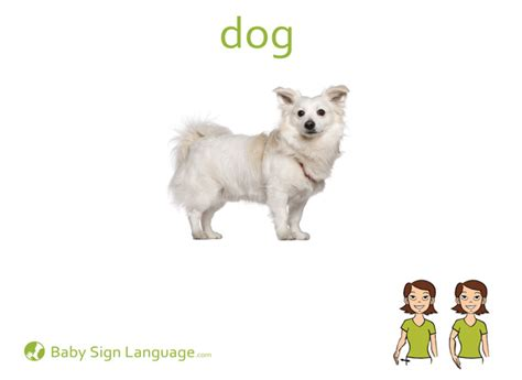 puppy in sign language