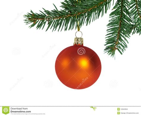 orange christmas ball stock images image 12052304