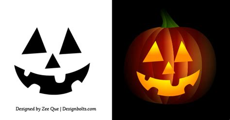 easy pumpkin templates free simple easy pumpkin carving stencils patterns for