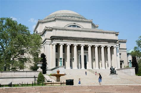 Universities In Columbia For Mba by Columbia And Nyu Are Highest Ranked New York