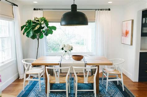 wishbone dining chairs design ideas