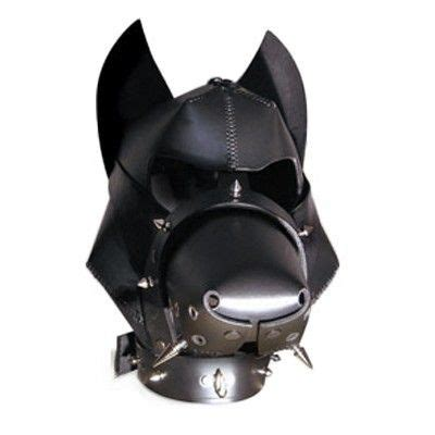 leather puppy mask mask the secret lives of princes masks mask and dogs