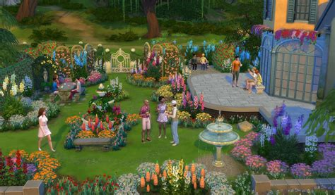 Gardening Sims 4 The Sims 4 Package