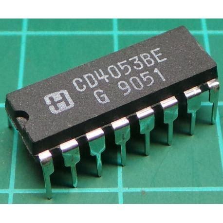 Analog Multiplexer Cd4053 Mux 4053 4053 8 channel analog multiplexer demultiplexer dsmcz
