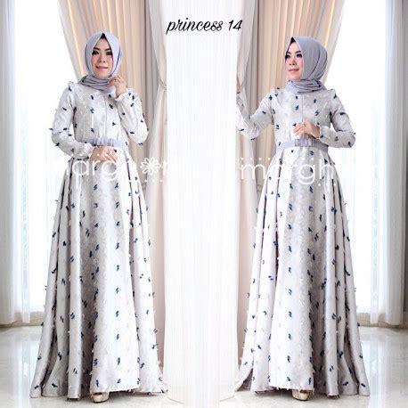 Grosir Baju Hijan Dress Florenza Maxy Fc gamis pesta princess 14 by marghon pusat grosir baju muslim
