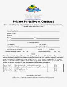 Event Contracts by Welcome To Our Sweet S Time Is Coming Soon