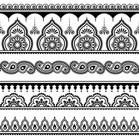 henna tattoo wie macht man das anleitung henna selber machen inkl muster motive