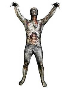 undead halloween costumes morphsuit undead full body costume