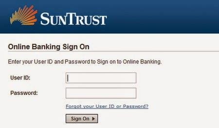 suntrust bank banking sign up suntrust banking