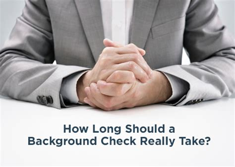 How Should A Background Check Take Proforma Screening Solutions Employment Screening Services