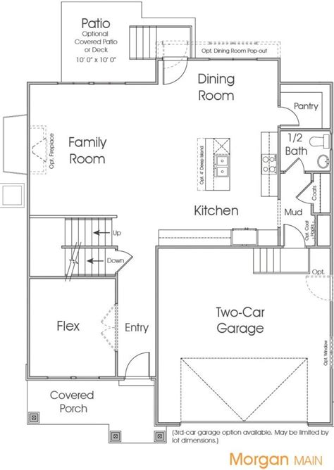 morgan homes floor plans morgan utah floor plan edge homes home ideas pinterest