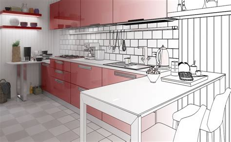 cool free kitchen planning software making the designing best free kitchen design software options and other