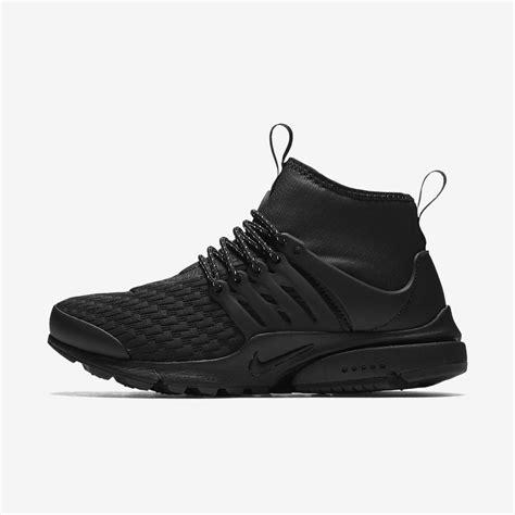 Nike Presto Black Premium Ca6862 nike air presto mid utility premium s shoe nike