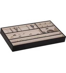 jewelry organizer tray faux leather in jewelry trays